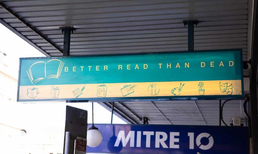 Better Read Than Dead book store, King Street Newtown.