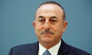 Mevlüt Çavuşoğlu, Turkey's foreign minister
