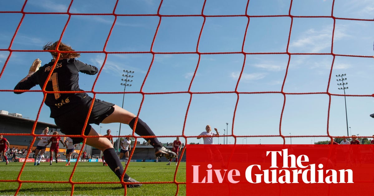 Tottenham v Liverpool: Womens Super League – live!