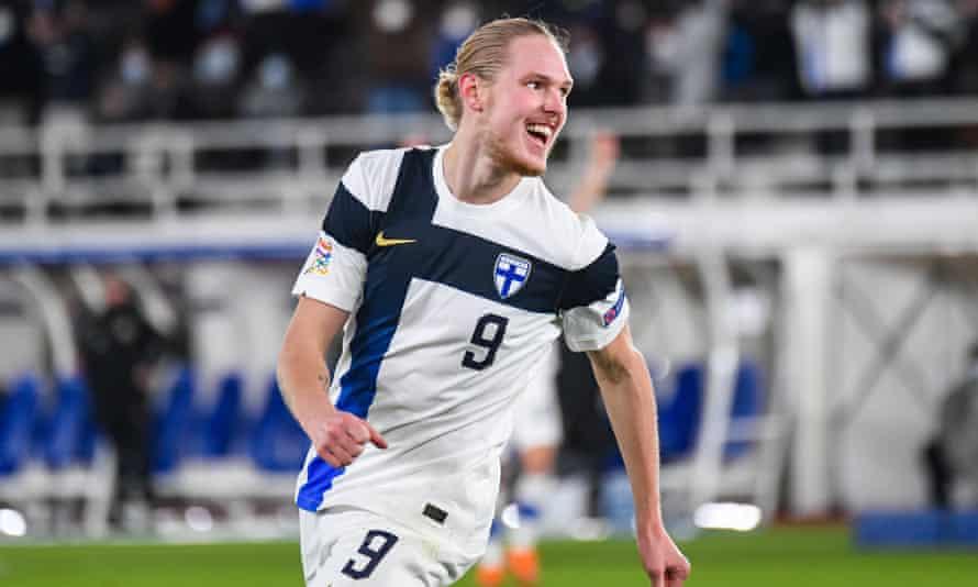 Finland's Fredrik Jensen.