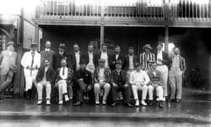 Members of Mitcham cricket club in 1912