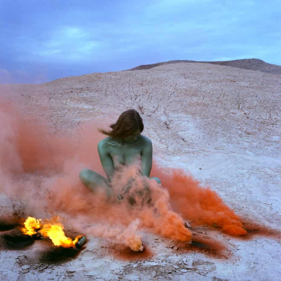 Judy Chicago's vast body of work, including this one titled Immolation, will be on display at the de Young museum in San Francisco.