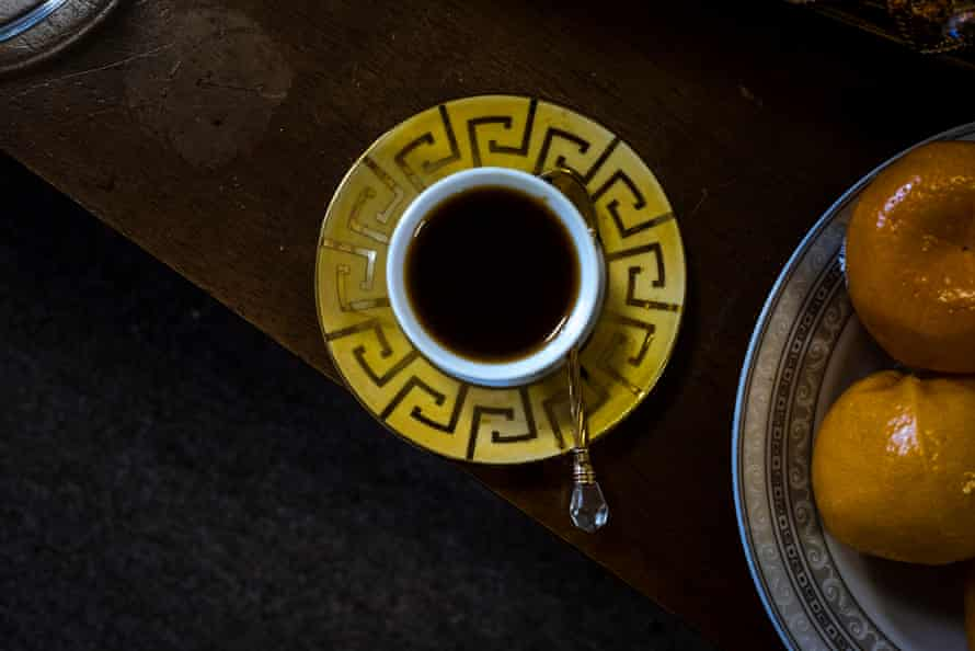 A traditional Horn of Africa spiced coffee as made by Ruth Eyakem