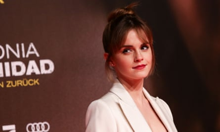 'I'm reading a lot this year, and I want to do a lot of listening' ... Emma Watson on her planned break from acting.
