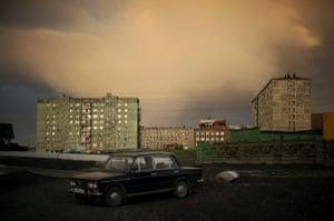 A summer night in Norilsk