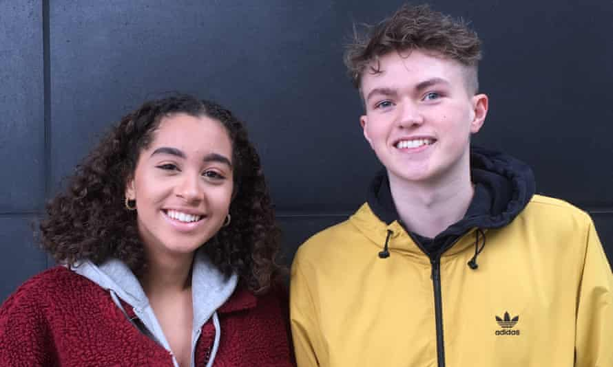 Emily McClymont and Cameron Cavens.