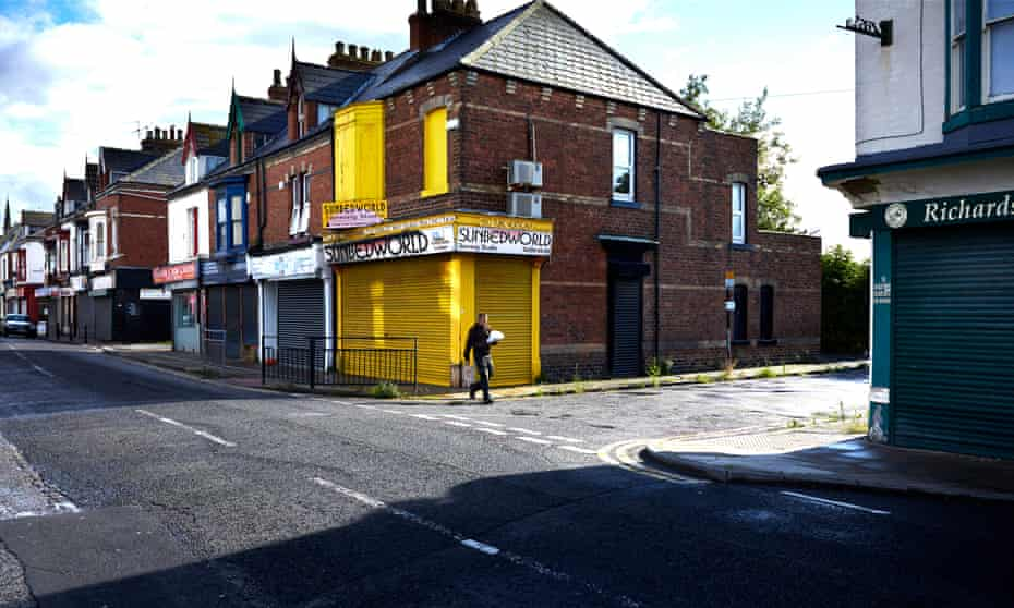 Street in Hartlepool