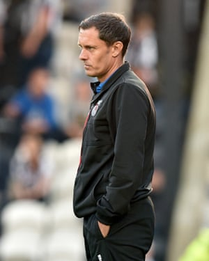 Grimsby manager Paul Hurst has finally got the club back in the Football League