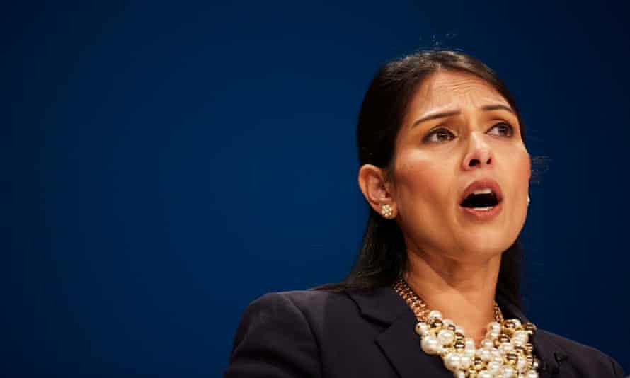 Priti Patel, the UK's secretary of state for international development