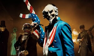 Brutal … The Purge: Election Year