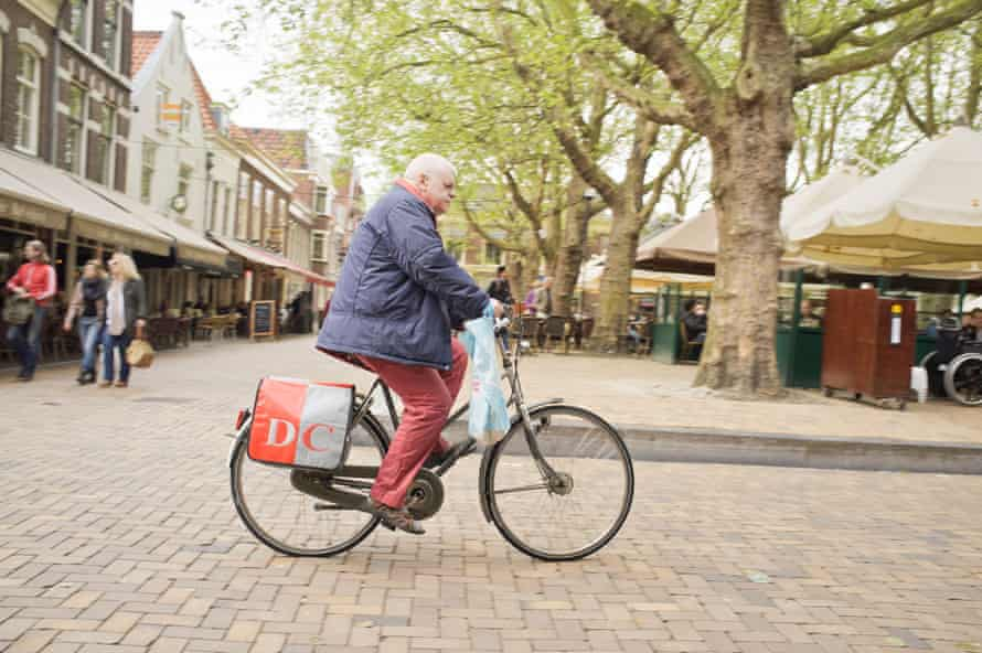 Imagine if the UK was like the Netherlands, where 20% of 80-84 year olds regularly cycle