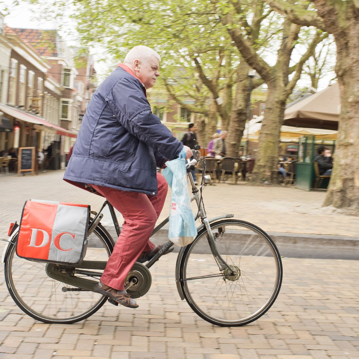 Older Dutch cyclists warned after rise in electric bike deaths   Netherlands    The Guardian
