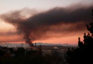 In August 2012, a blaze struck the core of Chevron's Richmond refinery