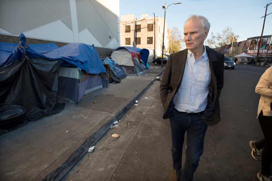 Philip Alston in downtown LA.