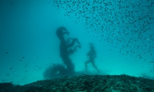 Into the deep... a new image of a Damien Hirst work, Treasures from the Wreck of the Unbelievable.