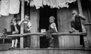 Family of migrant packinghouse workers in their quarters, Homestead from A Vision Shared