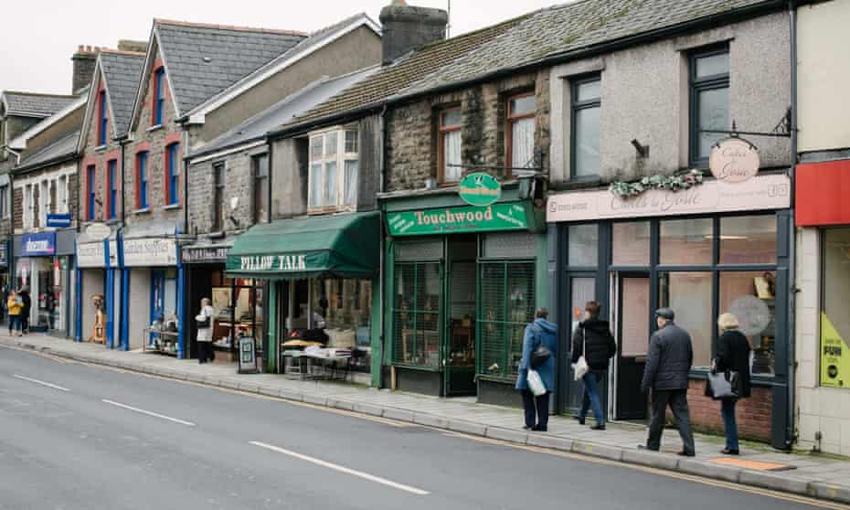 Treorchy's high street