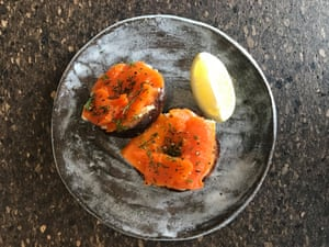 Smoked carrot salmon from Mother Works.