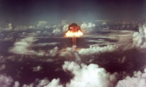 The KING shot was a 500 kilotons nuclear bomb. It was the largest pure-fission bomb yet exploded when detonated North of RunitCWCEY3 The KING shot was a 500 kilotons nuclear bomb. It was the largest pure-fission bomb yet exploded when detonated North of Runit