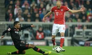 Arjen Robben for Bayern Munich