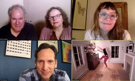 Exemplary … clockwise: Jay O Sanders and Maryann Plunkett, Sally Murphy, Charlotte Bydwell and Stephen Kunken.