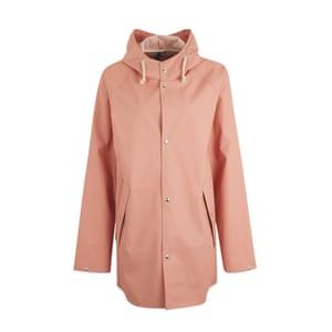 Pink raincoat from Zalando