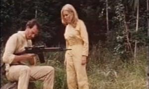 A still from the 1982 film Turkey Shoot.