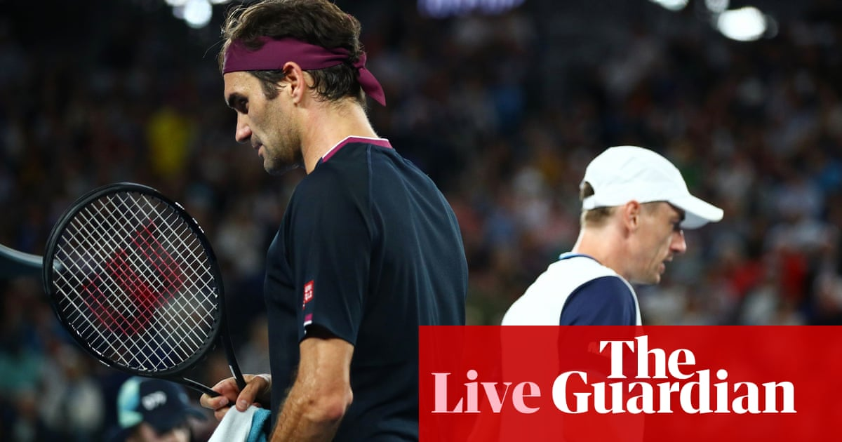 Australian Open: Roger Federer v John Millman goes to fifth set – live!