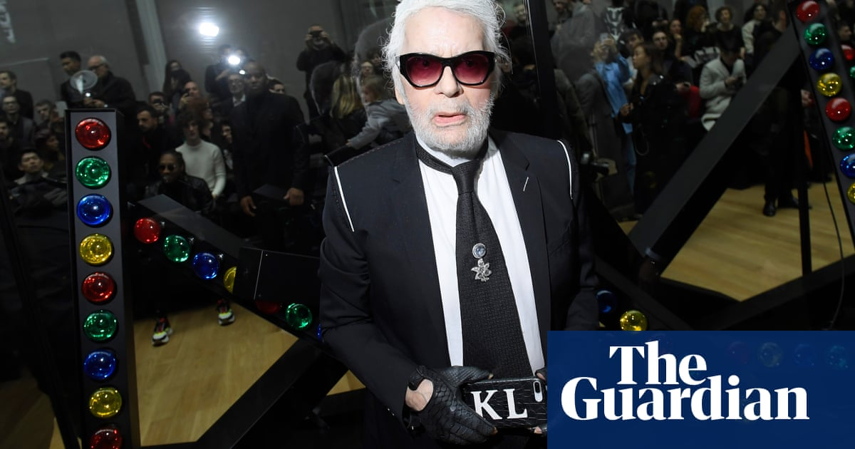 Karl Lagerfeld, Chanel's artistic director, dies aged 85