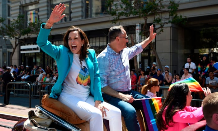 Kamala Harris Can A Top Cop Win Over Progressives In 2020 Us News The Guardian