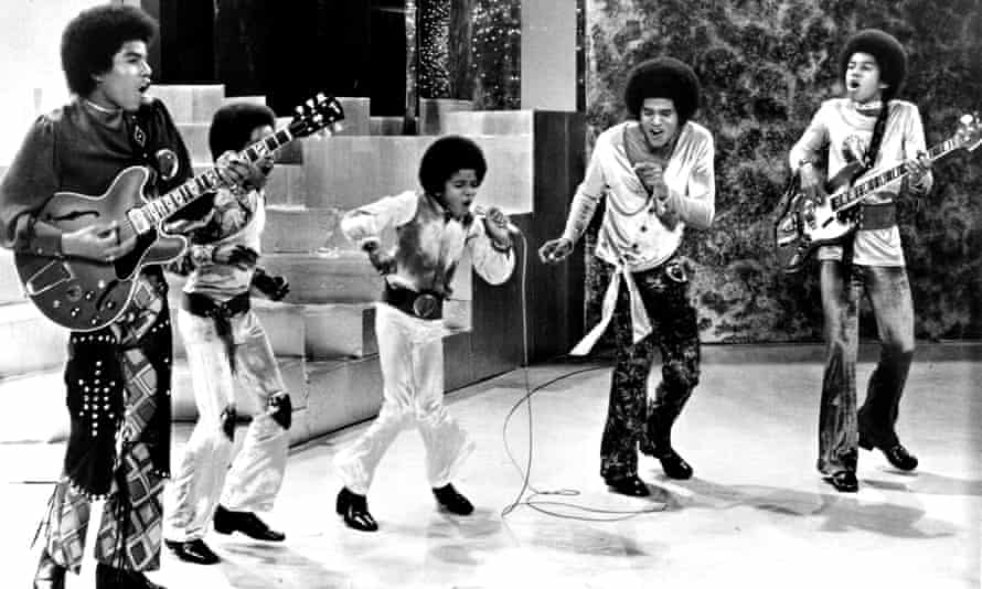 'Michael was the greatest entertainer of them all' … Jackson 5 performin on TV, 1969; (l to r) Tito, Marlon, Michael, Jackie and Jermaine.