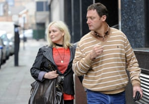 Caroline Aherne and Jeff Pope in 2009