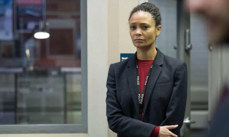 Programme Name: Line of Duty - Series 4 - TX: n/a - Episode: Line of Duty - Series 4 - Ep 5 (No. n/a) - Picture Shows: **STRICTLY EMBARGOED UNTIL TUESDAY 18TH APRIL 2017** Detective Chief Inspector Roz Huntley (THANDIE NEWTON) - (C) World Productions - Photographer: Bernard Walsh