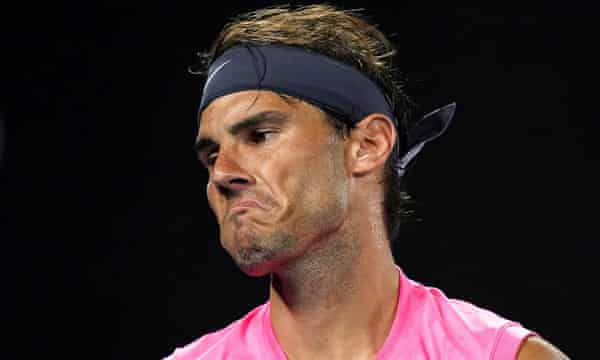 Rafael Nadal Knocked Out Of Australian Open By Dominic Thiem As It Happened Sport The Guardian