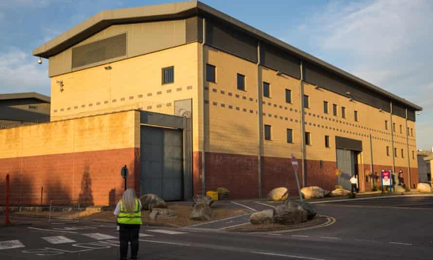 Colnbrook detention centre.