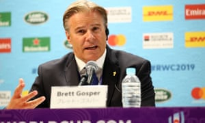 Brett Gosper, World Rugby's chief executive, said that while all investment in the sport is healthy the governing body would look to communicate with CVC about their plans.