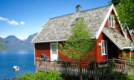 Fretheim Fjordhytter, Flam, Aurland.