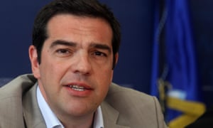Alexis Tsipras took a defiant stance on Tuesday.