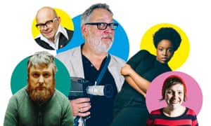 From left: Tim Key; Harry Hill Vic Reeves; Lolly Adefope and Josie Long