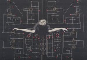Juana Gomez, Distaff. 07 (Circuit Pattern), 2017