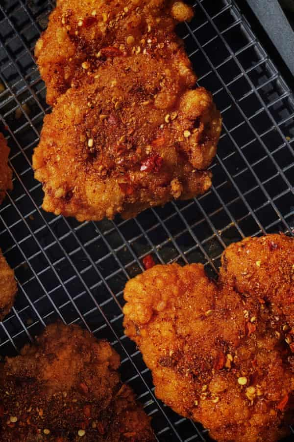 Beijing fried chicken pieces