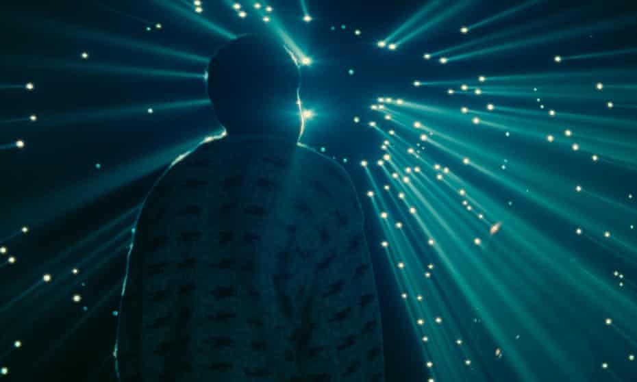 Gravity-defying lightness … Gagarine.