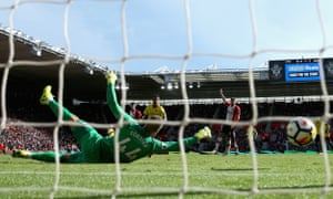 Daryl Janmaat's long-range effort beats Fraser Forster to double Watford's lead.