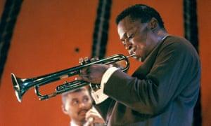 Miles Davis performing in 1962.