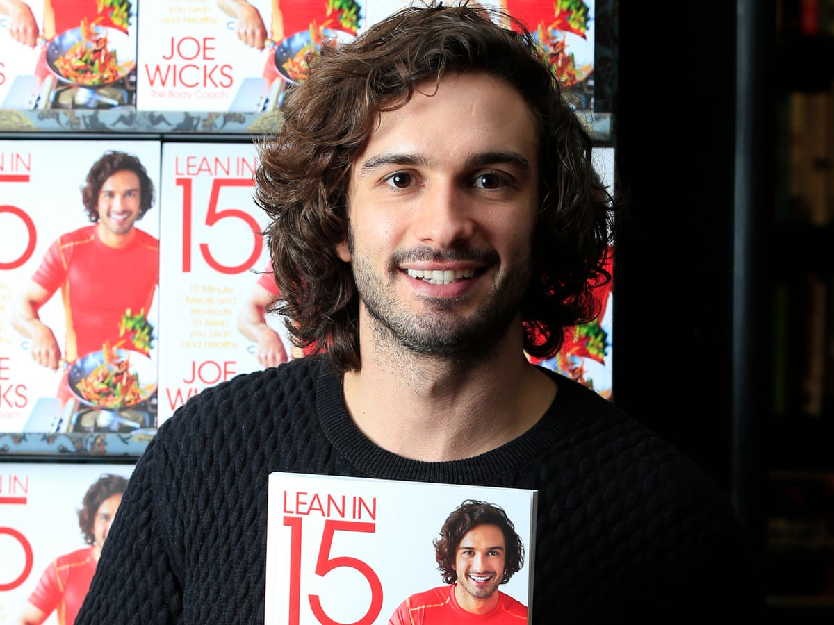 Picture This Joe Wicks And His Instagram Peers Are Strengthening Publishing Books The Guardian