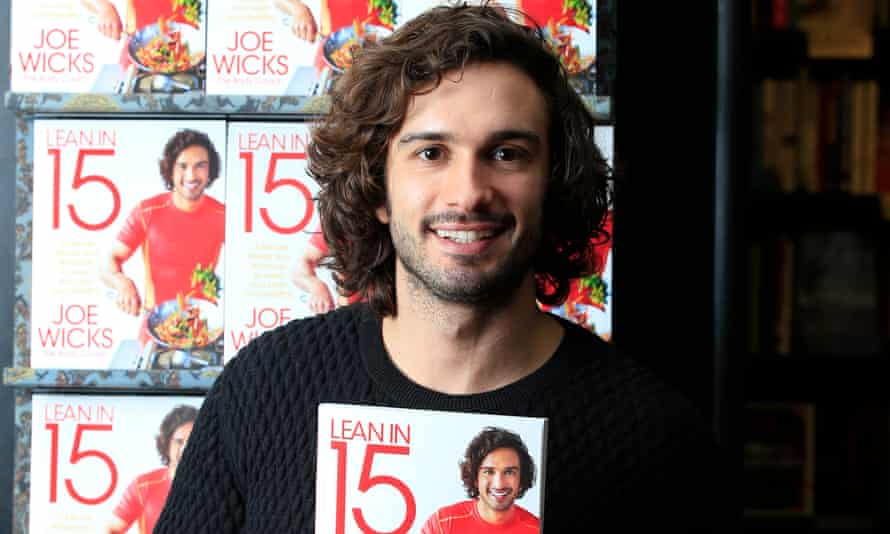 Healthy sales … Joe Wicks, at a book signing in London.