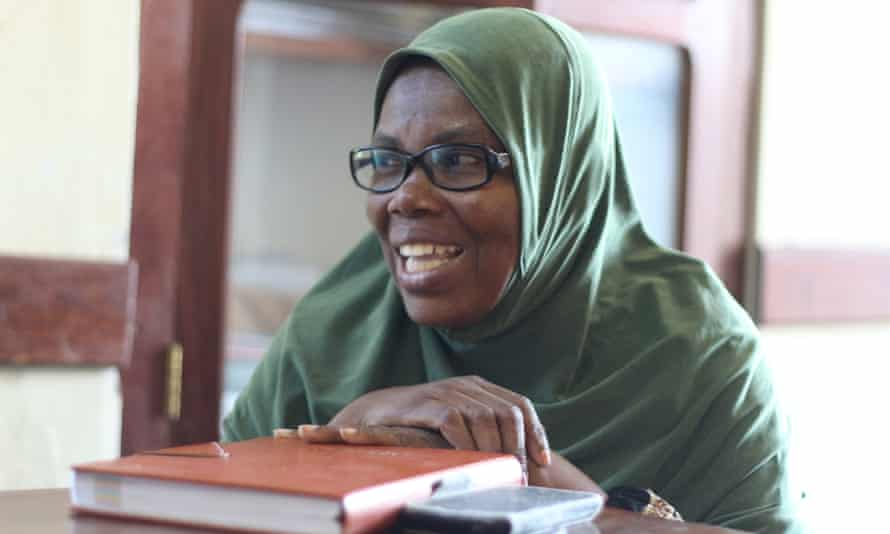 Madina Haji, one of the engineers with Reclaim Women's Space.