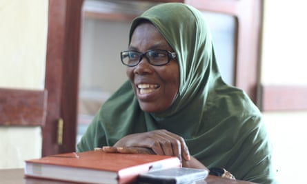 Madina Haji, one of the engineers with Reclaim Women's Space.