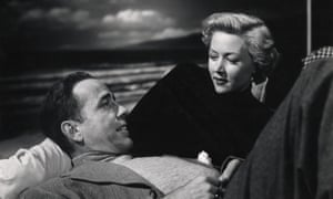 Humphrey Bogart and Gloria Grahame in In a Lonely Place.