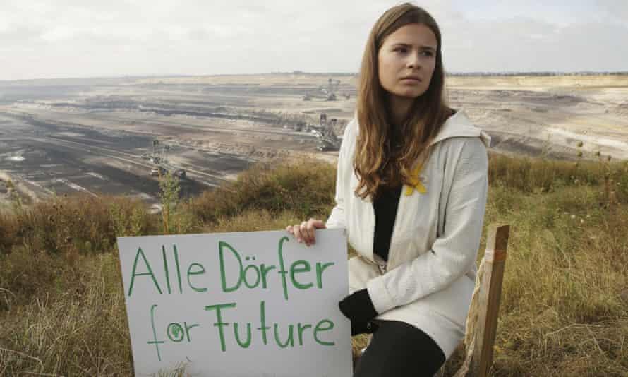 Environmental activist Luisa Neubauer